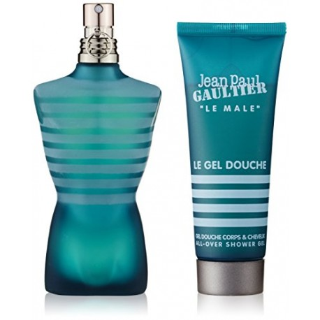Jean Paul Gaultier Coffret Le Male Eau de Toilette 75 ml + Gel Douche 75 ml