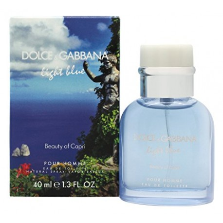 Dolce & Gabbana alcoolisée – Light Blue Capri pH 40 ml