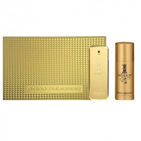 Paco Rabanne 1 Million EDT 100ml, Deo Spray 150ml