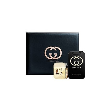 Gucci Guilty Set - 50ml Eau de Toilette + 100ml Lotion Corps